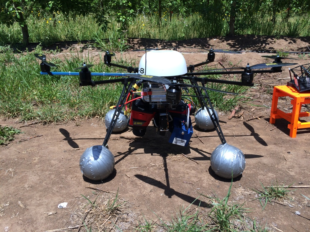 The use of multicopters for vineyard monitoring