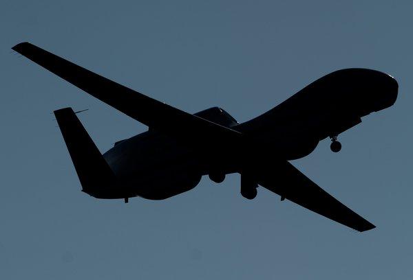 US-WEATHER-NASA-HURRICANE DRONES